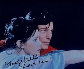Genuine Margot Kidder Lois Lane 10 X 8 Signed Autograph Photo Superman The Movie